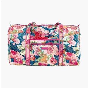 Vera Bradley Superbloom Duffel Bag NWT